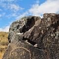 Petroglyph Monument Face by Kyle Hanson