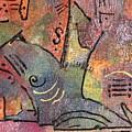 Petroglyph Quilt by Gina Reynolds
