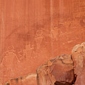 Petroglyphs In Capital Reef by Cindy Murphy - NightVisions