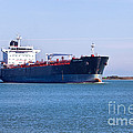 Petroleum Tanker En Route by Inga Spence