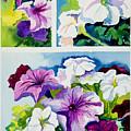 Petunias In Summer by Janis Grau