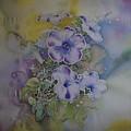 Petunias by Susan White