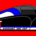 Peugeot 908 Hdi Sat - No. 7 by Asbjorn Lonvig