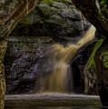 Pewit's Nest Last Waterfall by Dale Kauzlaric