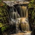 Pewits Nest Middle Falls Square by Dale Kauzlaric