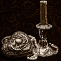 Pewter And Pearls - Sepia by Christopher Holmes
