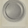 Pewter Plate by Charles Cullen