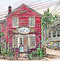 Pewter Shop, Rockport Massachusetts by Michele A Loftus
