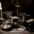 Pewter Still Life II by Tom Mc Nemar