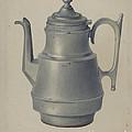 Pewter Teapot by Arthur G. Merkley
