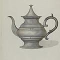 Pewter Teapot by Dana Bartlett