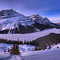 Peyto Lake Lookout Panorama by Adam Jewell