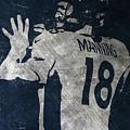 Peyton Manning Broncos 2 by Joe Hamilton