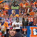 Peyton Manning Color by April Cook