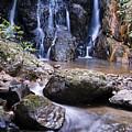 Pha Sua Waterfall by Bill Brennan - Printscapes