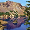 Phantom Ship In Crater Lake by Michael Courtney