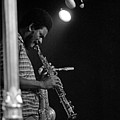 Pharoah Sanders 1 by Lee Santa