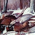 Pheasants Hunt - Sold by Florentina Popa