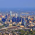 Philadelphia Aerial  by Duncan Pearson