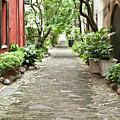 Philadelphia Alley Charleston Pathway by Dustin K Ryan