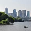 Philadelphia Along The Schuylkill River by Bill Cannon