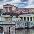 Philadelphia Art Museum At The Water Works  by Tom Gari Gallery-Three-Photography