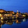 Philadelphia Art Museum - City Lights by Bill Cannon