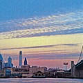 Philadelphia At Dawn by Bill Cannon