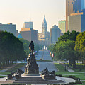 Philadelphia Benjamin Franklin Parkway by Bill Cannon