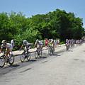 Philadelphia Bike Race - Manayunk Avenue by Bill Cannon