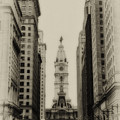 Philadelphia City Hall From South Broad Street by Bill Cannon