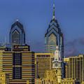 Philadelphia City Hall Skyline by Nick Zelinsky