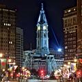 Philadelphia Downtown by Skyline Photos of America