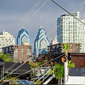 Philadelphia From Penns Landing by Bill Cannon
