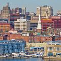 Philadelphia - From The Ben Franklin Bridge by Bill Cannon