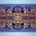 Philadelphia Geometric Collage by Duncan Pearson