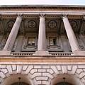 Philadelphia Library Pillars by Matt Harang