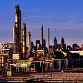Philadelphia Oil Refinery  by Mountain Dreams