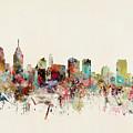 Philadelphia Pennsylvania Skyline by Bri Buckley
