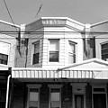 Philadelphia Row Houses - Black And White by Matt Harang