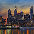 Philadelphia Skyline by Susan Candelario