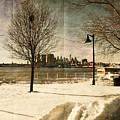 Philadelphia Snowscape by Milton Brugada