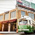 Philadelphia Trolley by Richard Dorr
