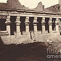 Philae, Cour Int?rieure, Colonnade De L'ouest by Louis De Clercq