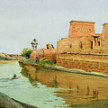 Philae On The Nile by Alexander West
