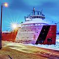 Philip R.clarke West Pier Sault Ste.marie Michigan -3124 by Norris Seward