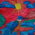 Philippine Kingfisher Painting Contest 4 by Carmela Maglasang