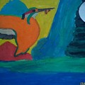 Philippine Kingfisher Painting Contest2 by Carmela Maglasang