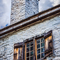 Philipsburg Manor House - Chimney by Black Brook Photography
