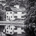 Philipsburg Manor House - Reflections - Bw by Black Brook Photography